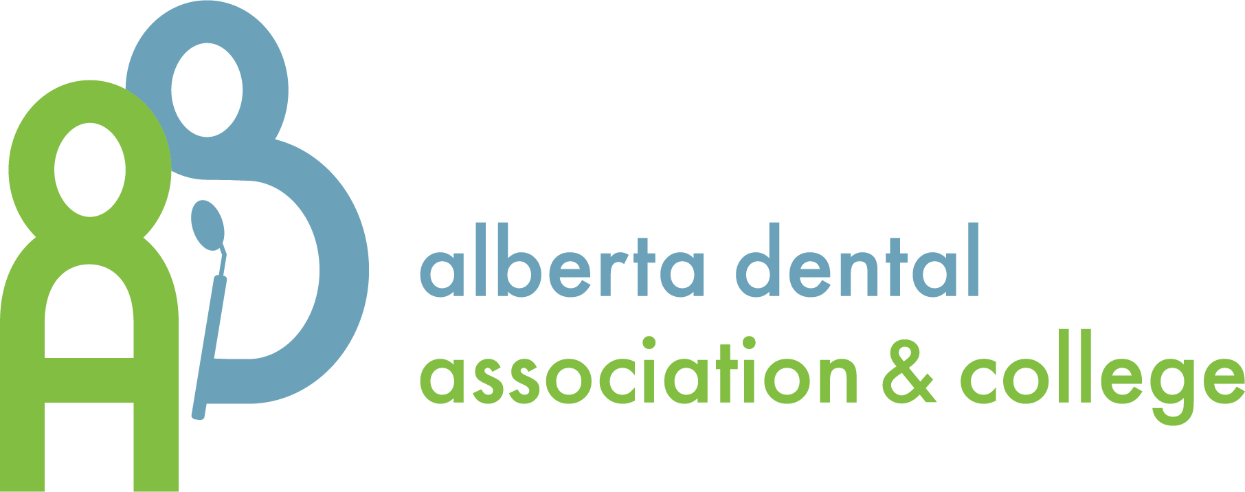 Alberta Dental Association + College Logo